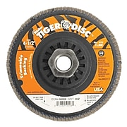 WEILER Trimmable Flap Discs, 80 Grit