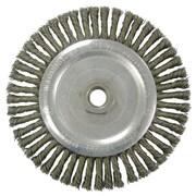 """WEILER Standard Twist Knot Wire Wheel 6.5"""""""