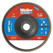 "WEILER 7"" Dia Vortec Pro Abrasive Flap Discs"