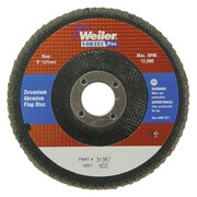 WEILER Vortec Pro Abrasive Flap Disc, Angled