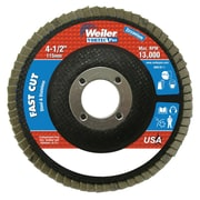 "WEILER Vortec Pro Abrasive Flap Discs 36 - 4.5"""