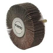 WEILER Vortec Flap Wheel, 80 Grit