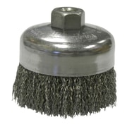 WEILER Crimped Wire Cup Brushes 0.62""