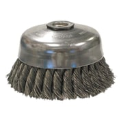 WEILER General-Duty Knot Wire Cup Brushes - rsr-5