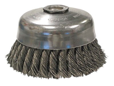 WEILER General-Duty Knot Wire Cup Brushes 1456047