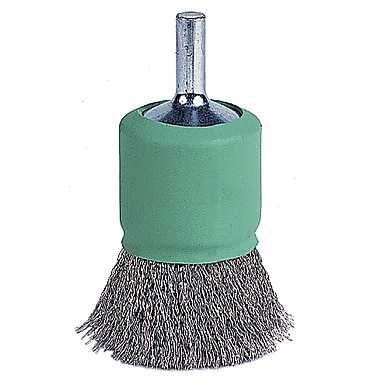 WEILER Coated-Cup Crimped Wire End Brush