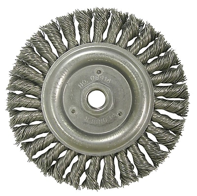 WEILER Twist Knot Wire Wheels