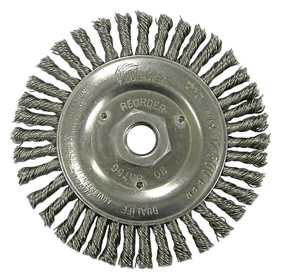 WEILER Stringer Bead Twist Knot Wire Wheels
