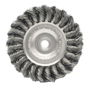 WEILER Dualife Standard Twist Knot Wire Wheels Stainless Steel