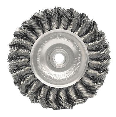 WEILER Dualife Standard Twist Knot Wire Wheels Stainless Steel