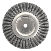 WEILER Knot Wire Wheel Brush