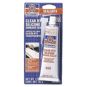 PERMATEX 66 Clear Silicone Adhesive