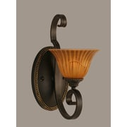 Toltec Lighting Elegante 1-Light Wall Bracket