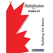 Building the Basics-Multiplication Facts Book 2, Gr. 3-4