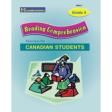 Reading Comprehension Exercises For Canadian Students, Gr. 3