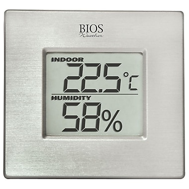 Bios Weather Indoor Hygrometer with Thermometer