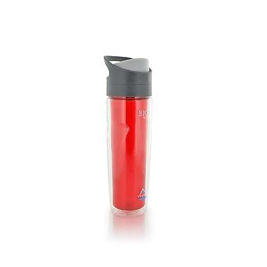 Vertex – Bouteille à paroi double Tritan 500 ml/17 oz, rouge