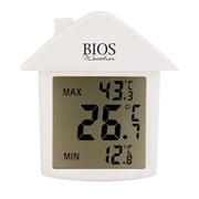 Bios Weather Indoor/Outdoor Digital Suction Cup Thermometer