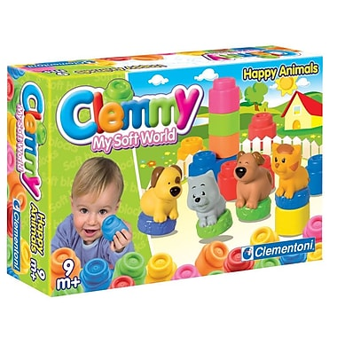 Clementoni Clemmy, Happy Animals, Multi-Coloured