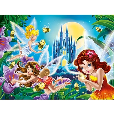 Clementoni Glitter: Fairies Night, 200 Pieces