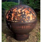 Good Directions Full Moon Party Dome Steel Charcoal Fire pit