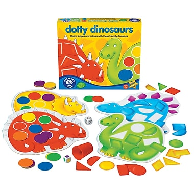 Orchard Toys – Dotty Dinosaurs, multilingue