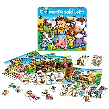 Orchard Toys Old Macdonald Lotto, Multilingual
