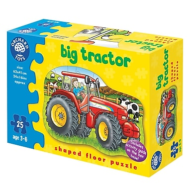 Orchard Toys FL Pz 25: Big Tractor, 25 Pieces