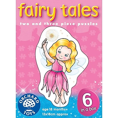 Orchard Toys Fairy Tales Puzzles, Multilingual