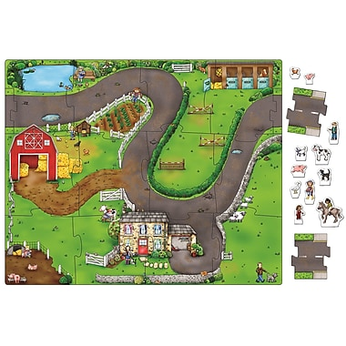 Orchard Toys Giant Jigsaw Mat: On The Farm, 12 Pieces