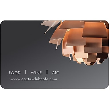 Cactus Club Gift Cards