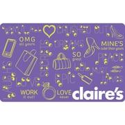 Claire's – Carte-cadeau de 20 $