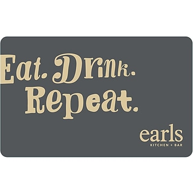 Earls Restaurant – Carte-cadeau de 100 $