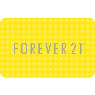 Forever 21 – Carte-cadeau de 50 $