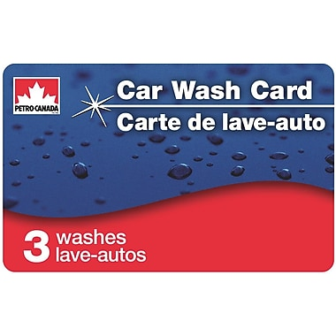 Petro-Canada $30 Car Wash Card