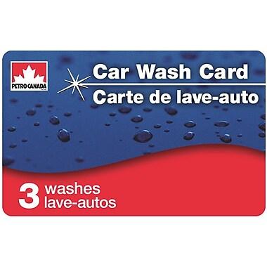 Petro-Canada – Carte lave-auto incluant 3 lavages Tout compris de luxe