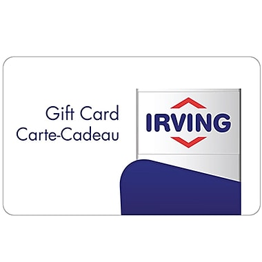 Irving Oil – Carte-cadeau de 25 $