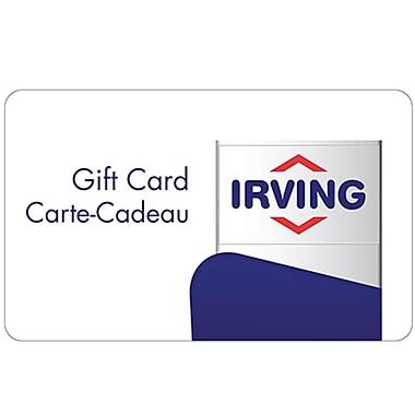 Irving Oil – Carte-cadeau de 50 $