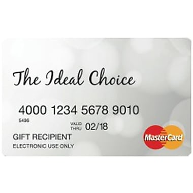 Prepaid MasterCard French, $50 Gift Card (Quebec Only)
