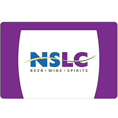 Nova Scotia Liquor $25 Gift Card