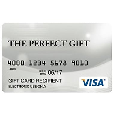 Prepaid Visa English, $100 Gift Card