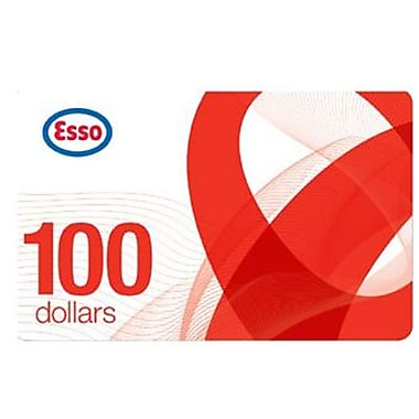 Esso – Carte-cadeau de 100 $