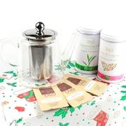 Tao Tea Leaf – Ensemble-cadeau théière en verre, 0,8 l