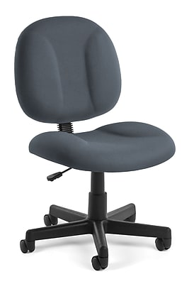 OFM Comfort 105-801 Fabric Task Chair, Gray