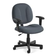 OFM Comfort 105-AA Fabric Task Chair with Arms