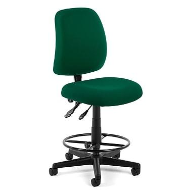 OFM – Tabouret fonctionnel Posture 118-2-DK-807, en tissu, vert (845123011348)