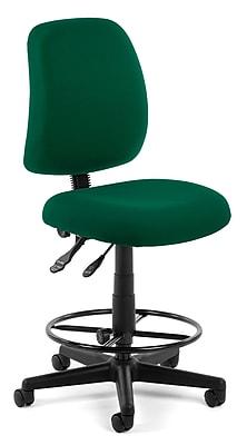 OFM Posture 118-2-DK-807 Fabric Task Stool, Green