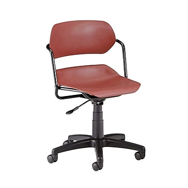 OFM Martisa 200-BLK-WINE Plastic Task Chair, Wine