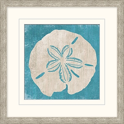 Sanddollar 1 Framed Art, 18