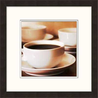 Coffee Cups 1 Framed Art, 18